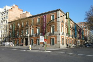 Thyssen-Bornemisza Museum in Madrid (Spain).