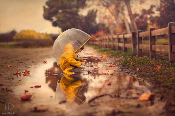 Jessica Drossin. La magia del otoño