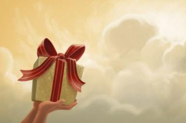 regalos EXCELENTES para niños. Ilustración de Ian Dale