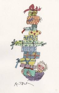 regalos EXCELENTES para niños. Ilustración de Quentin Blake