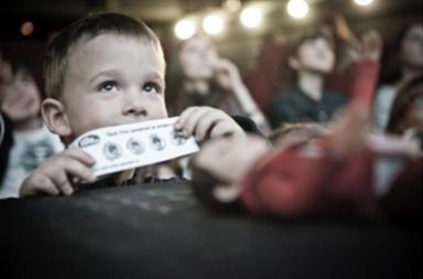 Llevar a un niño al cine... por primera vez