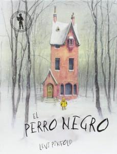 libros para niños. el perro negro