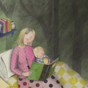 Siempre, un cuento antes de dormir (ilustración de Sophie Blackall)