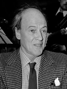 Roald Dhal en 1982