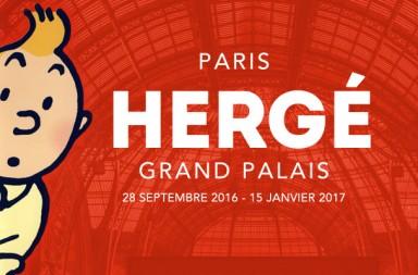 475 Hergé Anuncio de la exposición