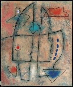 475 Hergé Sin titulo, uno de los cuadros abstractos de Hergé