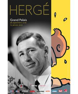 475 hergé Affiche Rmn-Grand Palais Photo Paul Nemerlin, Hergé © Adagp, Paris, 2016 © Hergé-Moulinsart