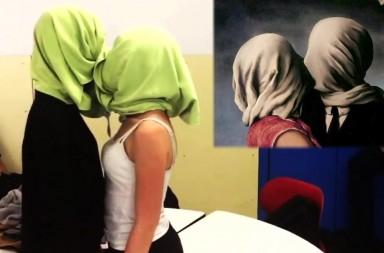 Un 'Mannequin Challenge' con arte
