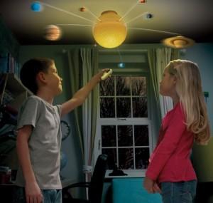 República de fantasía. Sistema Solar con luz y radiocontrol