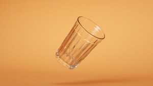 Un vaso a punto de romperse (o no). Florent Porta