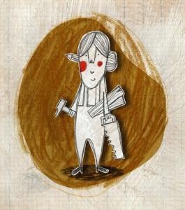 ilustración de Julio Antonio Blasco