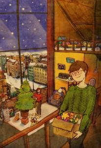 Ilustración de Puuung