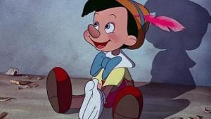 Un fotograma de la versión de Disney de «Pinocho», de 1940