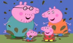 Imagen de la película Peppa Pig. Las botas de oro