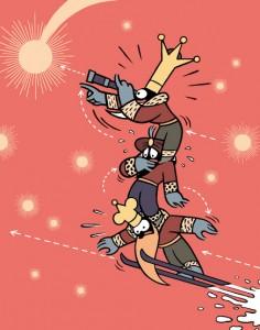 Reyes Magos. Ilustración de Max