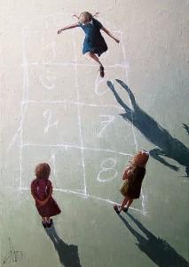 Enseñar jugando. Ilustración de Dima Dmitriev