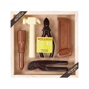 Caja de herramientas de chocolate. Regalos para papá. Ideas de regalos originales para el Día del Padre