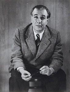 Borges fotografiado por Grete Stern en 1951.