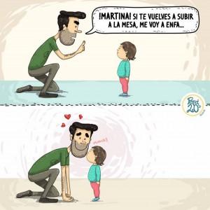 Ilustración de 'Oh My Dad'