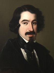 José de Espronceda, por Antonio María Esquivel.
