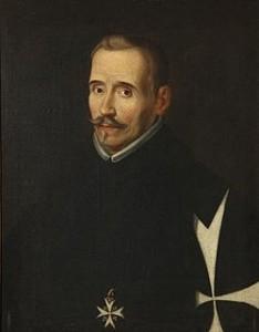 Lope Félix de Vega Carpio. Obra atribuida a Eugenio Cajés.