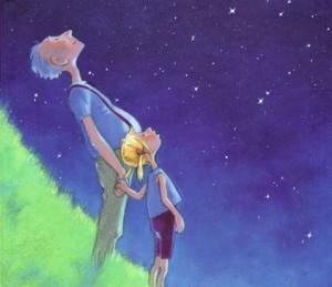 Fragmento de la portada del libro '¿Qué viene después del mil?' de Anette Bley. Perfil niños altas capacidades