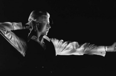 David Bowie en 'The Archer Station to Station tour', 1976 / John Robert Rowlands
