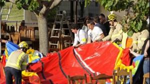 Fotografía del suceso ocurrido recientemente en el municipio gerundense de Caldes de Malavella - EFE