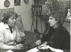 Gloria Gloria Fuertes y José Infante