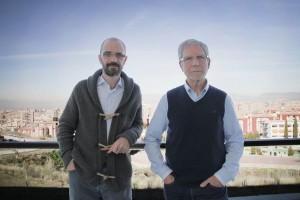 Los investigadores de la UGR Pedro Guerra Muñoz y Jaime Vila Castellar, autores de este trabajo.