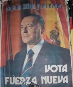 Blas Piñar consiguió algo histórico en 1979. La extrema derecha entró en el Congreso con un escaño.