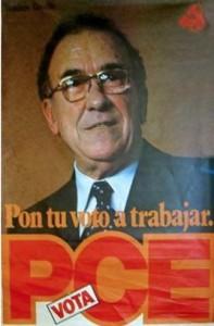Cartel del Partido Comunista para los comicios de 1979.