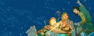 Ilustración de François Schwoebel para el libro 'El genio maligno del señor Descartes'