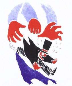 Ilustración de Donatien Mary para el libro 'El fantasma de Karl Marx'