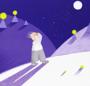 Ilustración de Yann Le Bras para el libro 'Las cien vidas del filósofo Sócrates'