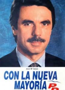 En 1996 José María Aznar se proclamó presidente del Gobierno.