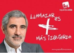En 2004 Gaspar Llamazares se presentó por Izquierda Unida.