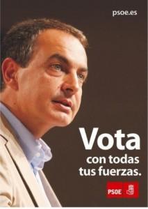 Zapatero revalidó presidencia en 2008.