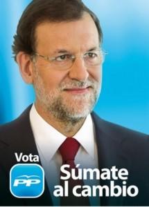 Mariano Rajoy consiguió la victoria en 2011.