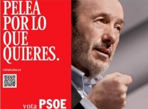 Alfredo Pérez Rubalcaba fue el candidato socialista en 2011.