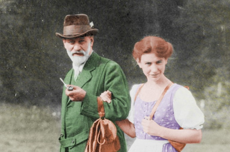 Anna Freud, hija de Sigmund Freud