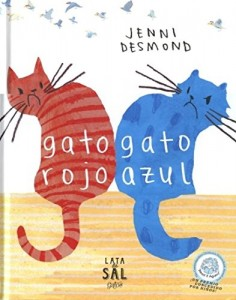 'Gato rojo, Gato azul', de Jenni Desmond