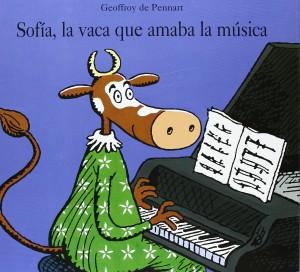 'Sofía, la vaca que amaba la música', de Geoffroy de Pennart