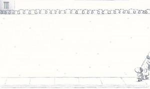 'Detrás del muro', de Isabelle Carrier y Elsa Valentin