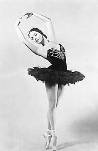 ALICIA ALONSO ● Bailarina. En 1955