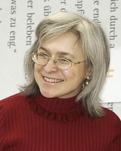ANNA POLITKOVSKAYA ● Periodista. Fotografía de 2005