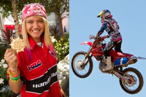ASHLEY FIOLEK ● Campeona de Motocross