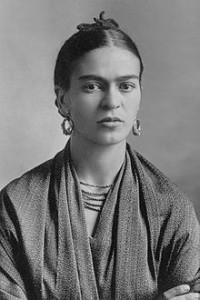 Frida Kahlo en 1932.