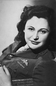 Nancy Wake en 1945.