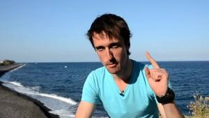 Pierre Yves Cousteau, el hijo menor de Jacques Cousteau